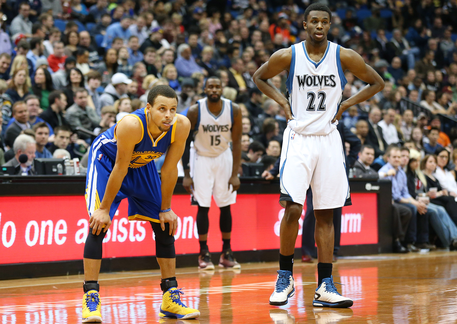 Golden State Warriors v Minnesota Timberwolves